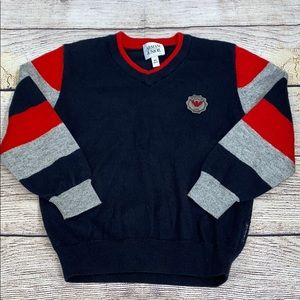 Armani Junior Cotton and wool blend sweater